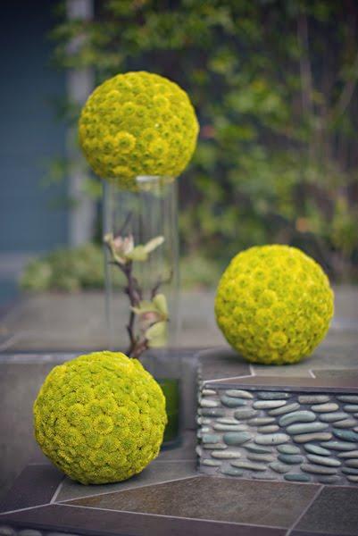 Zeleno- zlata vyzdoba s chryzantemami - Obrázok č. 20
