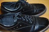 Spoločenské čierne topánky, 38