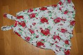 ružičkové šaty pre družičku,zn.H&M, 122