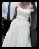 nadherne cipkovane svadobne saty, 38