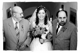 s tatínkem a dědečkem