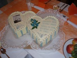 dortík pro manželovi rodiče