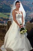 Saténové svatební šaty Salamanca, 38