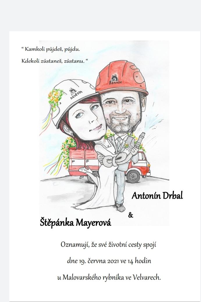Moje hasičská svatba - Obrázek č. 31