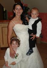 Naše obě děti Radimek a Adrianka