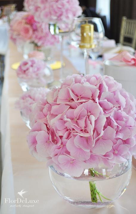 Naša ružovo-zlatá svadobná výzdoba od FlorDeLuxe - Obrázok č. 5