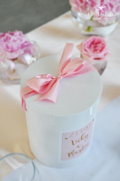 Naša ružovo-zlatá svadobná výzdoba od FlorDeLuxe - Obrázok č. 6