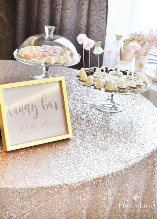 Naša ružovo-zlatá svadobná výzdoba od FlorDeLuxe - Obrázok č. 9