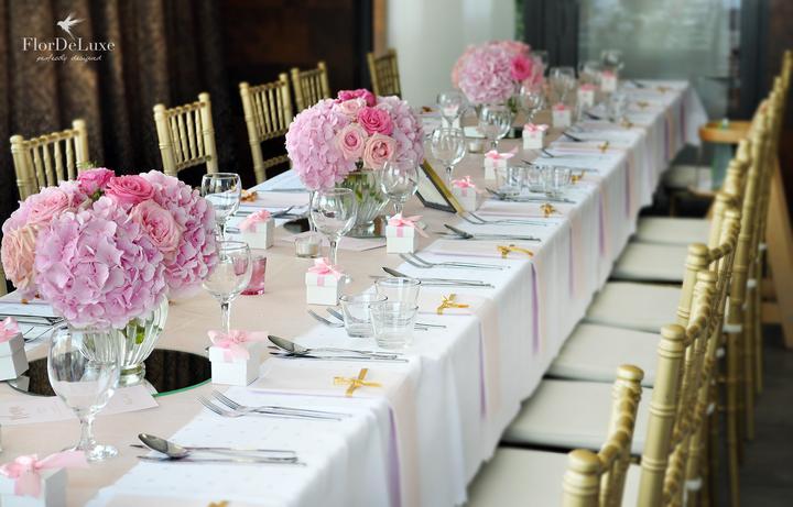 Naša ružovo-zlatá svadobná výzdoba od FlorDeLuxe - Obrázok č. 11