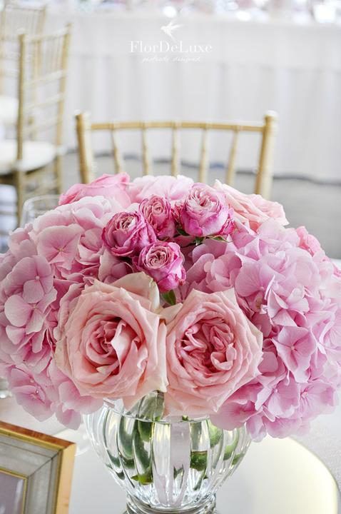 Naša ružovo-zlatá svadobná výzdoba od FlorDeLuxe - Obrázok č. 18