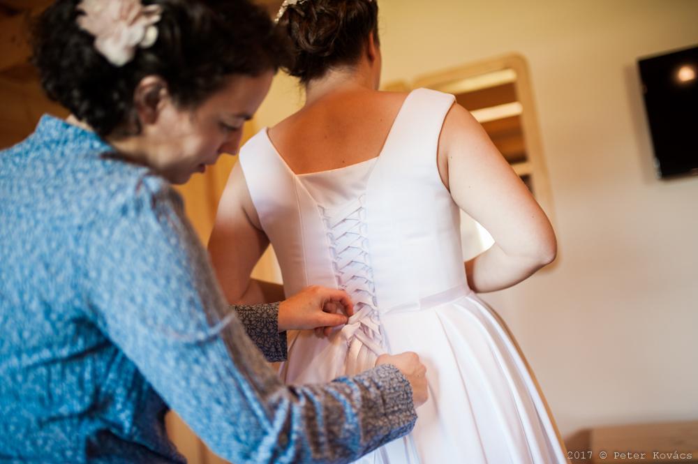 Svadobné šaty z Elody veľkosť 44-48 - Obrázok č. 1