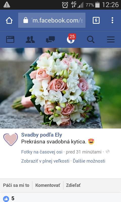 Chytila som svadobnú kyticu na kamarátkinej svadbe .... - žeby niečo takéto len viac na ružovo? dilema :/