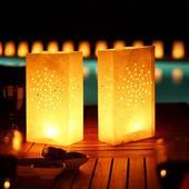 Luminarias - dekorativní svítilny 12ks,