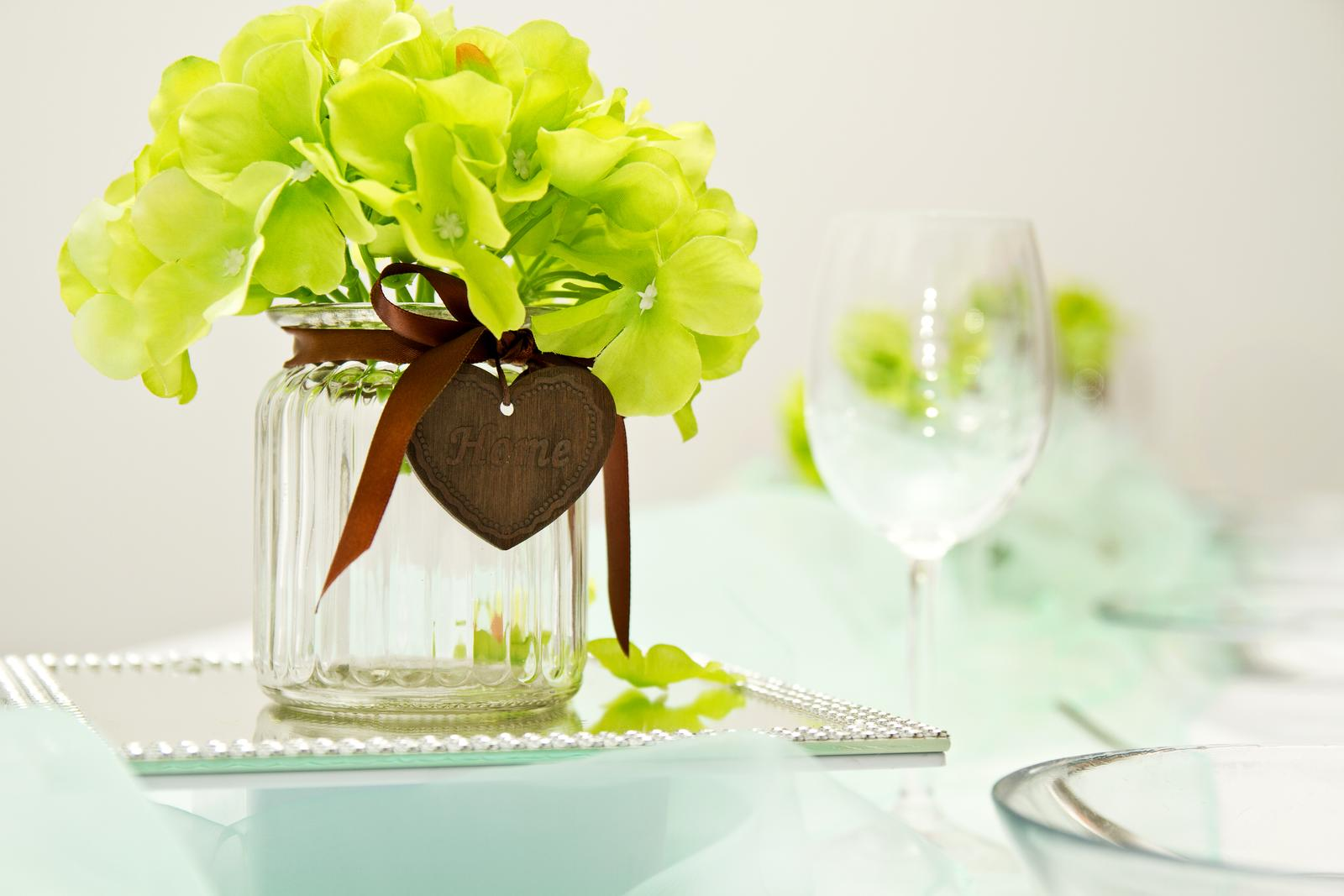 zelená hortenzia kvety - Obrázok č. 1