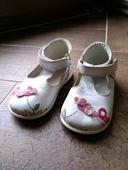 Dívčí kožené boty - baleríny Emel vel.21, 21