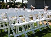 Svatební rozkládací židle,