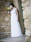 Svatební šaty vel. 40-42, 40
