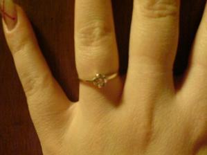 zasnoubení bylo nečekané, ale o to krásnější :o)
