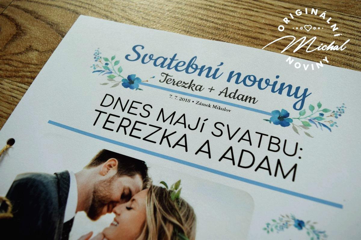 Svatební noviny - Obrázek č. 3