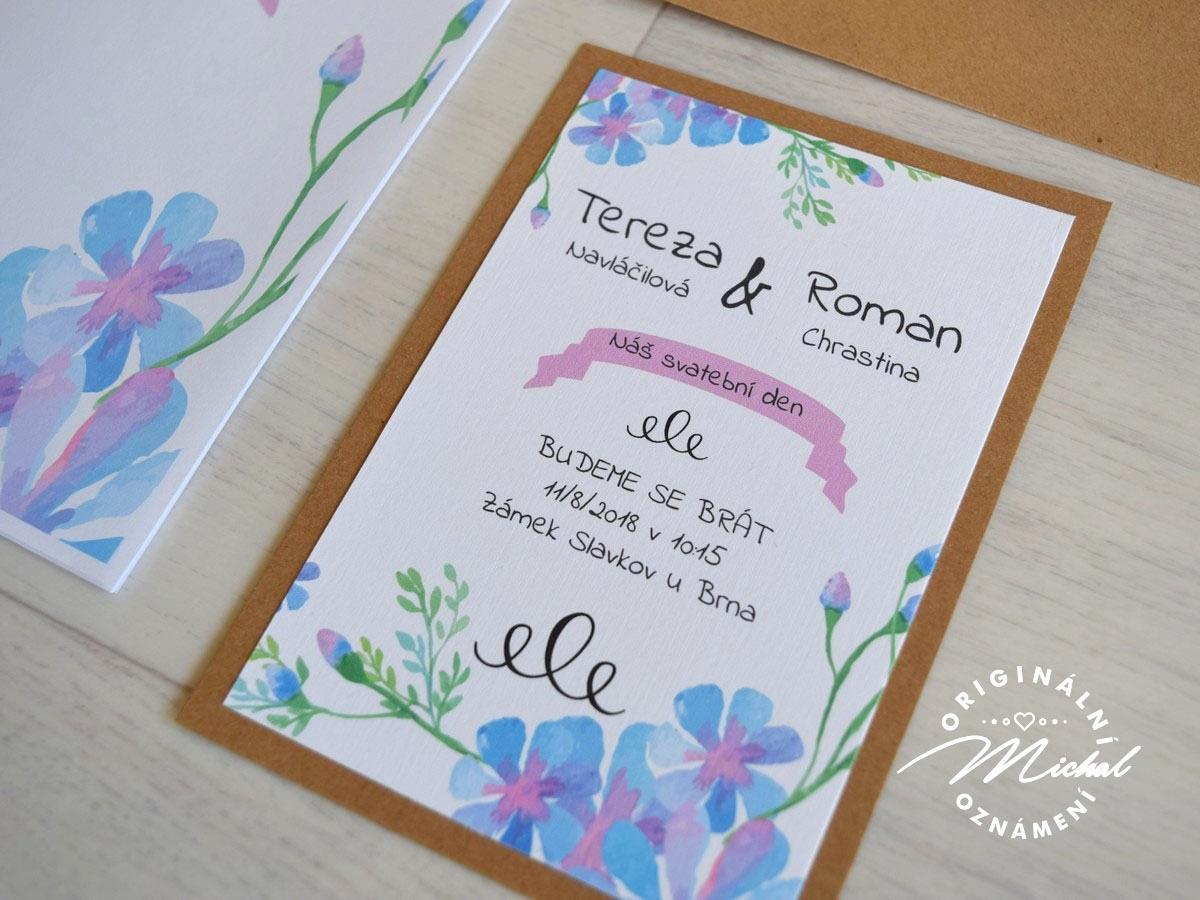 Svatební oznámení - TYP 09 - Obrázek č. 1