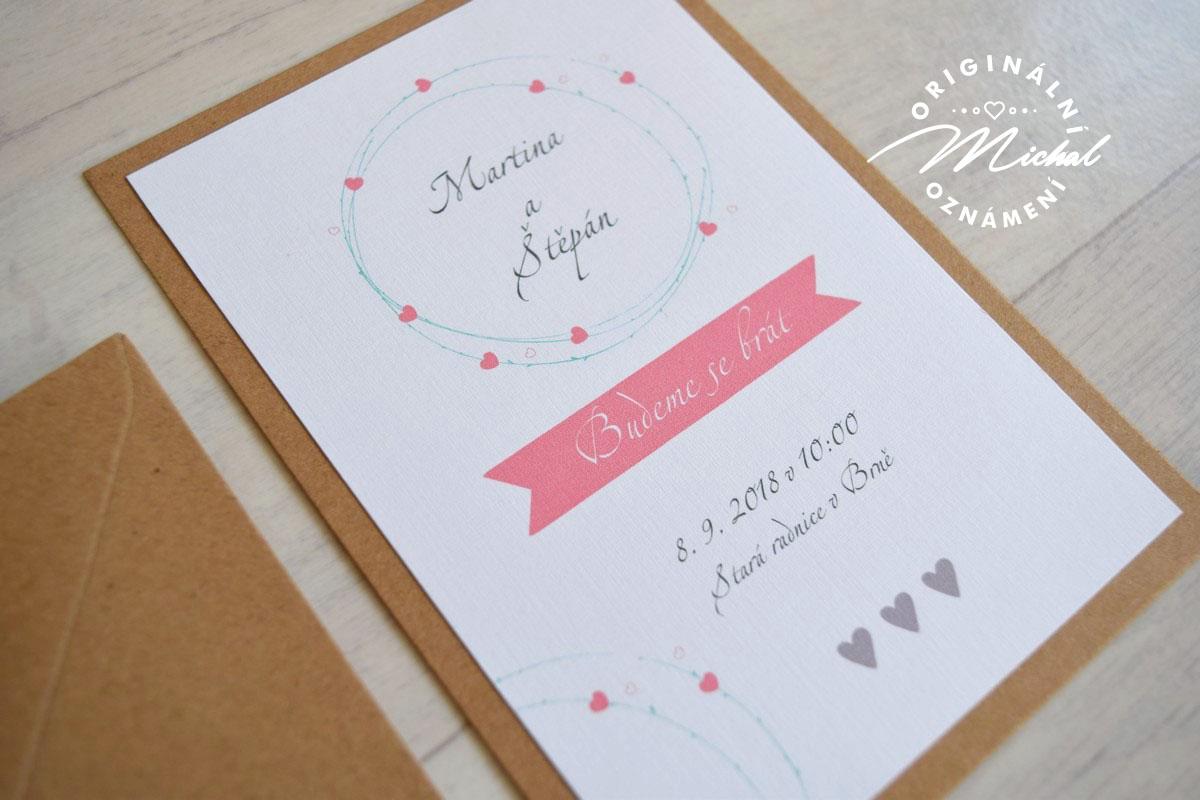 Svatební oznámení - TYP 07 - Obrázek č. 1