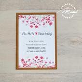 Svatební oznámení - TYP 28,
