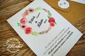 Svatební oznámení - TYP 56,