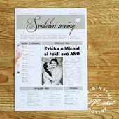 Svatební noviny - TYP 01,