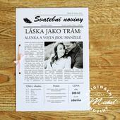 Svatební noviny - TYP 02,