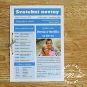 Svatební noviny - TYP 03,
