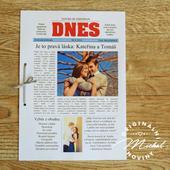 Svatební noviny - TYP 09 - barevné,