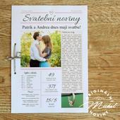 Svatební noviny - TYP 10,