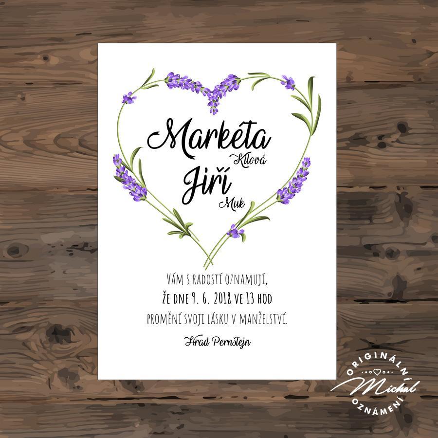 Svatební oznámení - TYP 103 - Obrázek č. 1