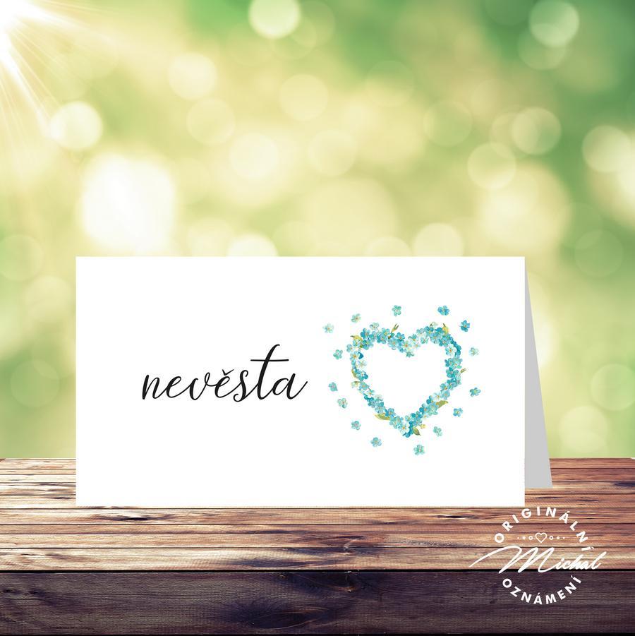 Svatební oznámení - TYP 207 - Obrázek č. 2