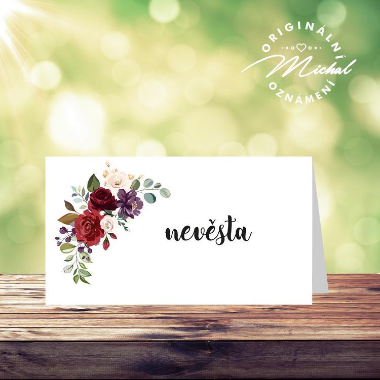Svatební oznámení - TYP 245 - Obrázek č. 2