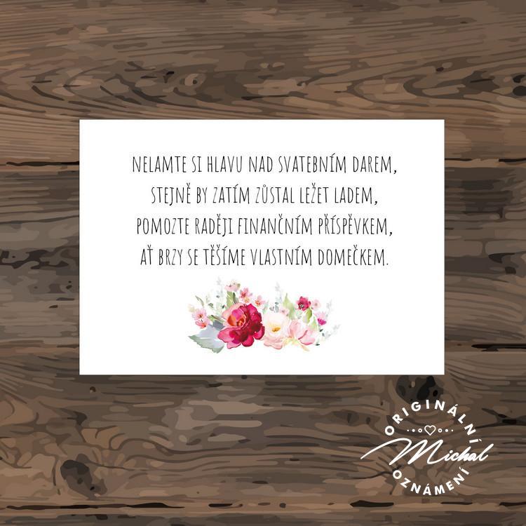 Svatební oznámení - TYP 247 - Obrázek č. 3