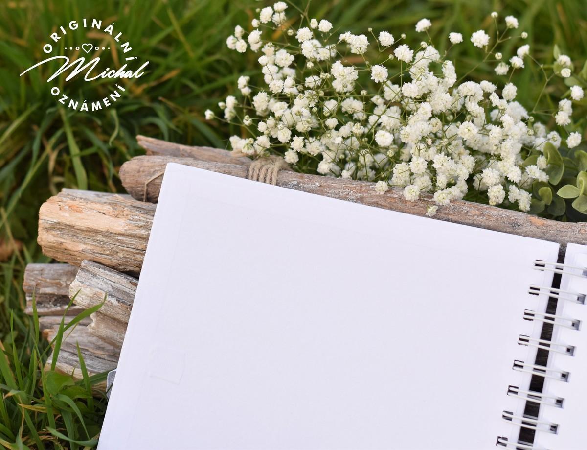 Svatební kniha hostů - pevné knižní desky - 6 - Obrázek č. 4