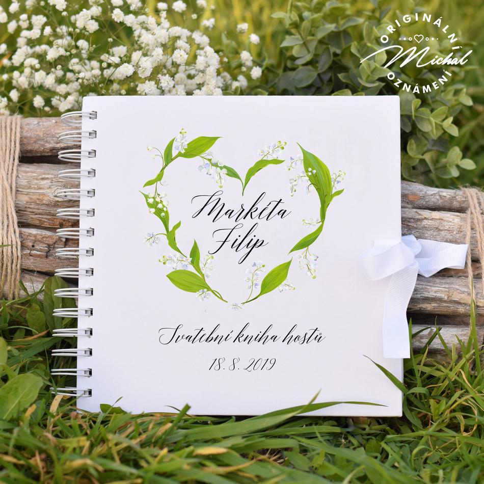 Svatební kniha hostů - pevné knižní desky - 18 - Obrázek č. 1