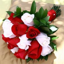 Kytica bude podobna ako tato, ale namiesto cervenych ruzi tam budu modre-tykrysove, ak sa mi ich podari zohnat ;-)