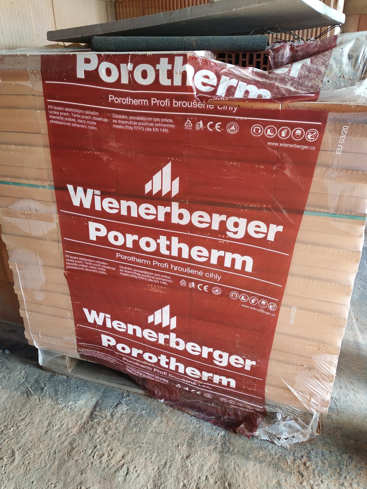 cihly Porotherm 11 5 profi - Obrázek č. 1