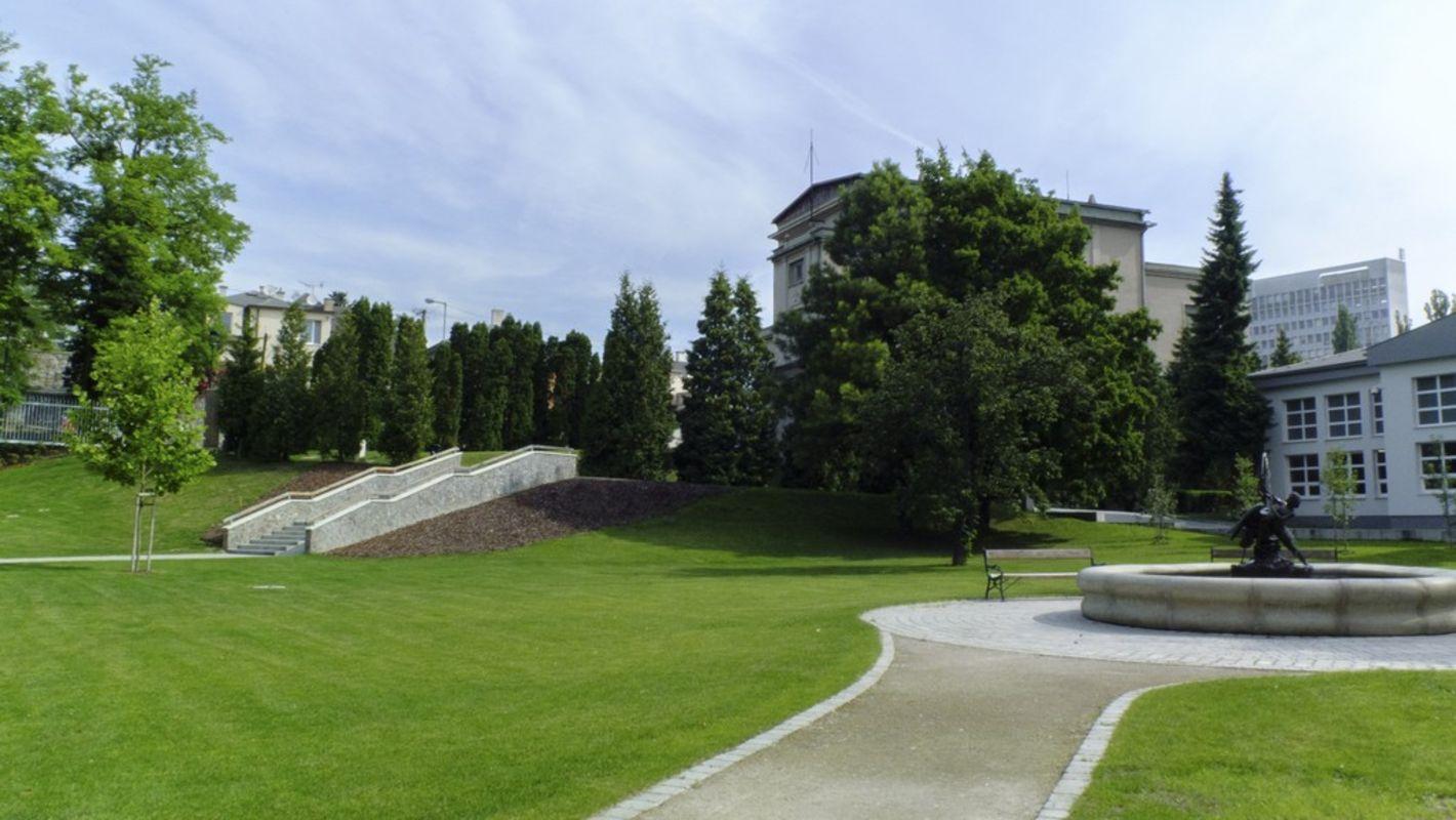 Prípravy K & P 💘 - Obrad: záhrada Vodárenského múzea