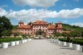 Trojský zámek - bylo nádherně :o))