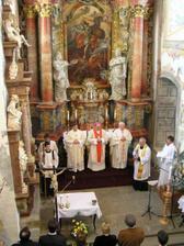 v kaplnke sv. Michala