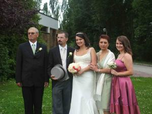 s mojimi rodicmi a sestrickou