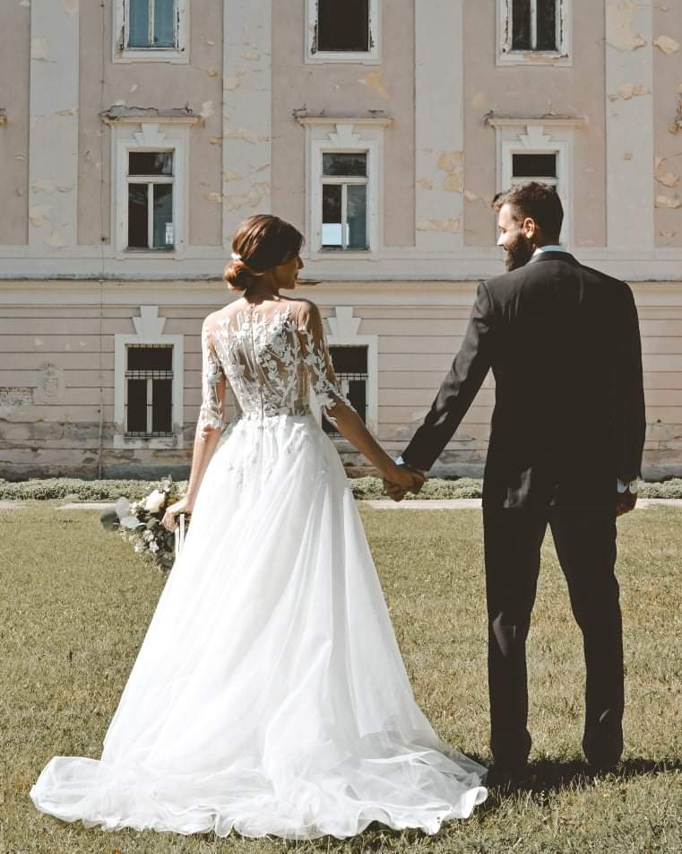 Svadobné šaty Stella - Obrázok č. 2