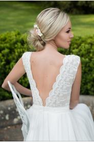 Boho svatební šaty MiaBella - Obrázek č. 1