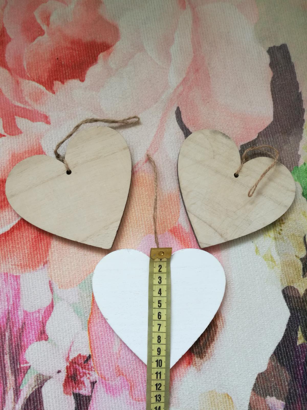 Svatební / dekorační srdíčka - Obrázek č. 1