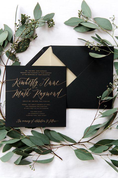 🖤I černá patří na svatbu - Obrázek č. 17