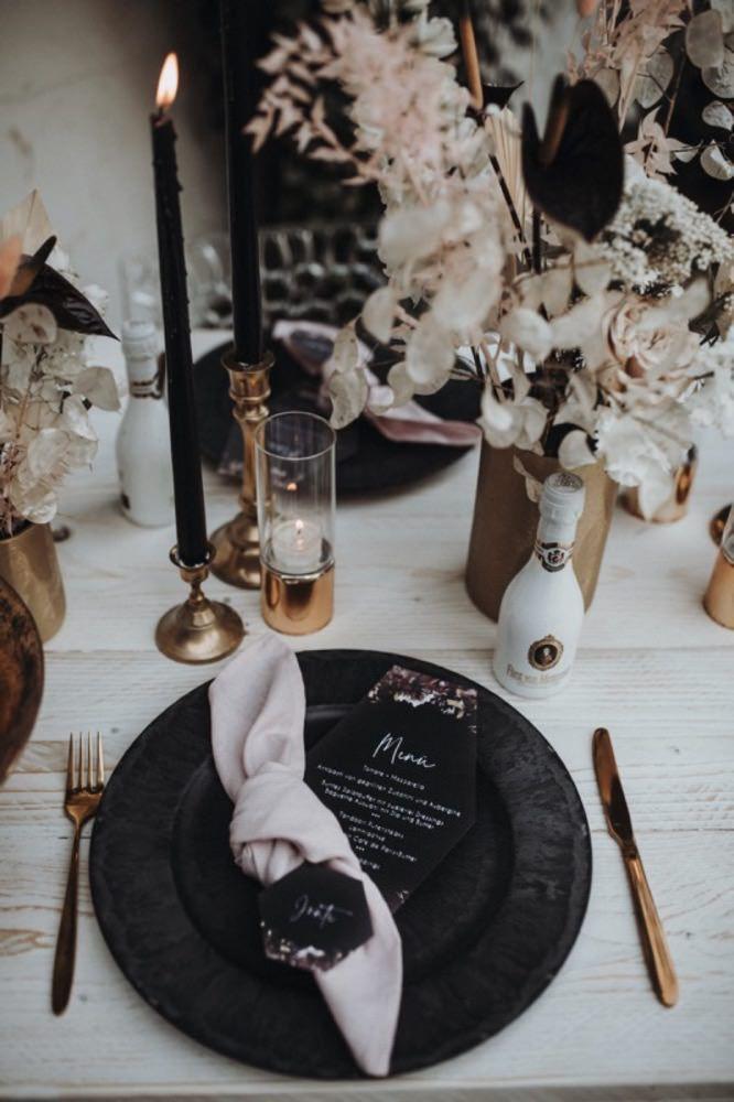 🖤I černá patří na svatbu - Obrázek č. 45