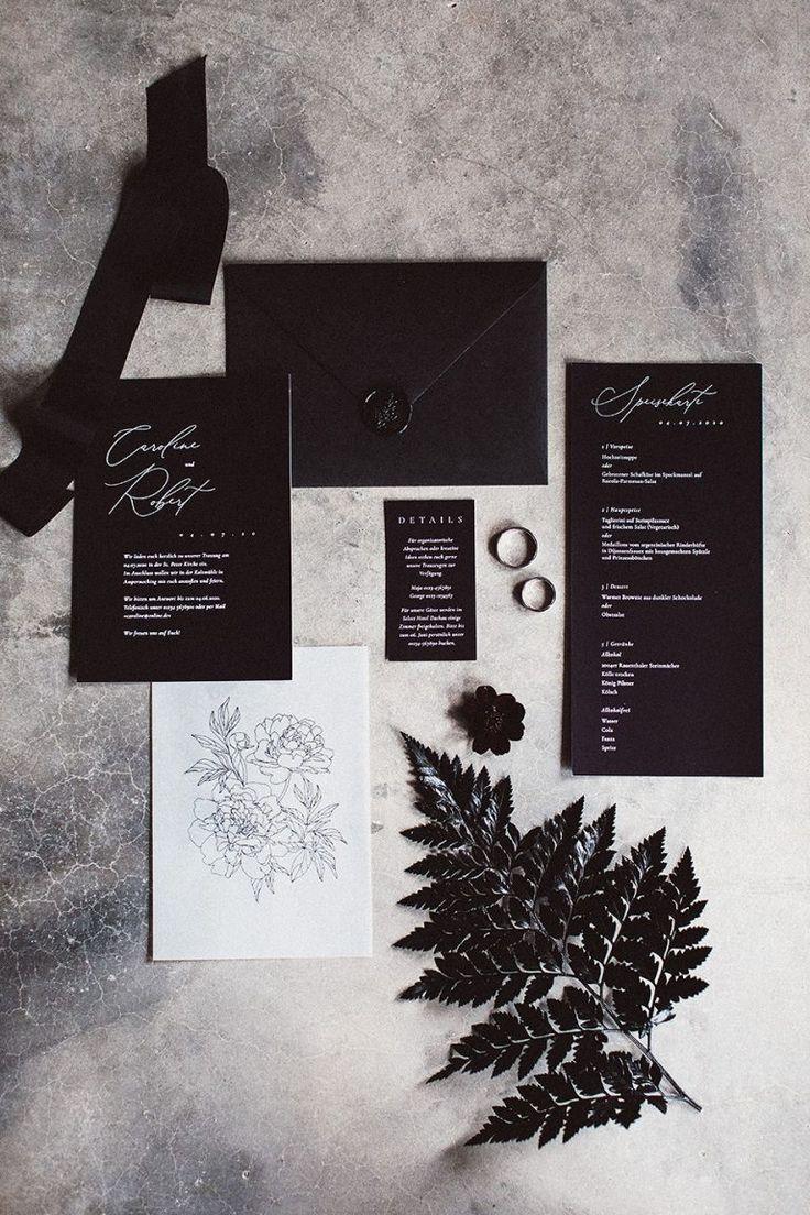 🖤I černá patří na svatbu - Obrázek č. 44